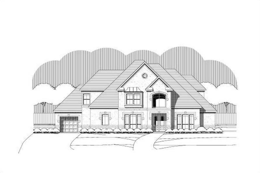 Main image for house plan # 19408