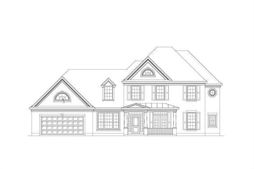 Main image for house plan # 15371