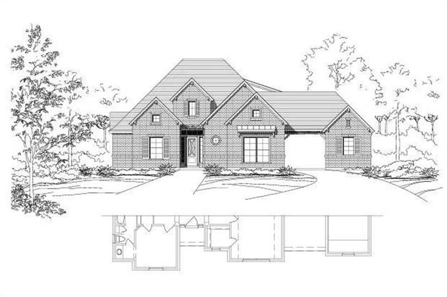 Main image for house plan # 15673