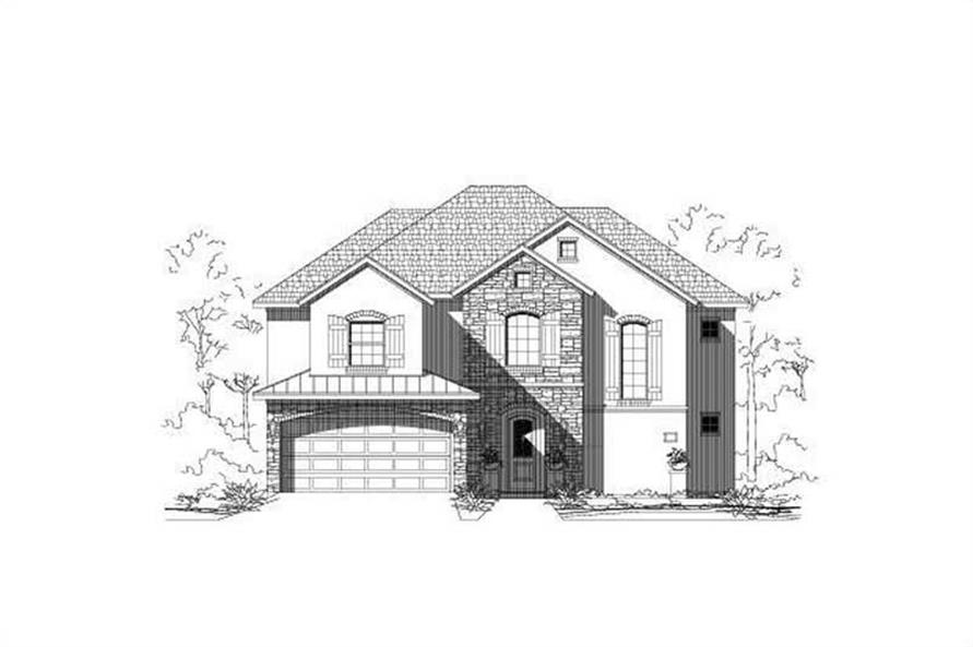 Main image for house plan # 15284