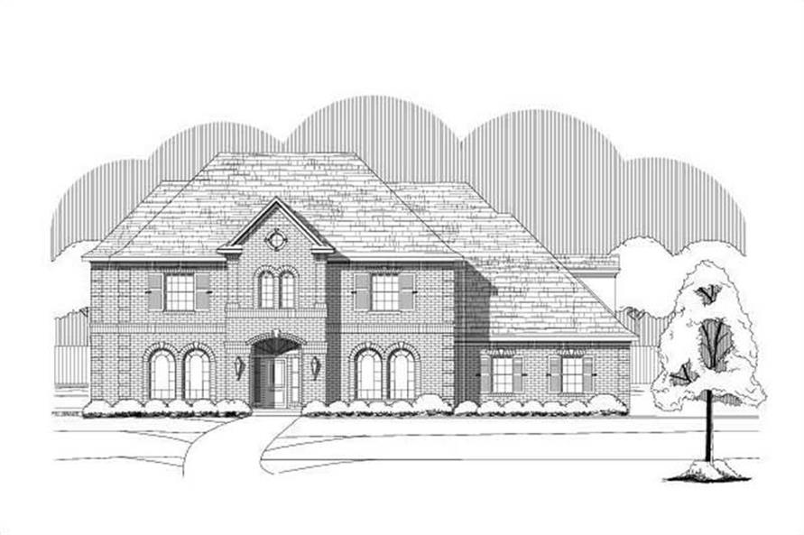 Main image for house plan # 15520