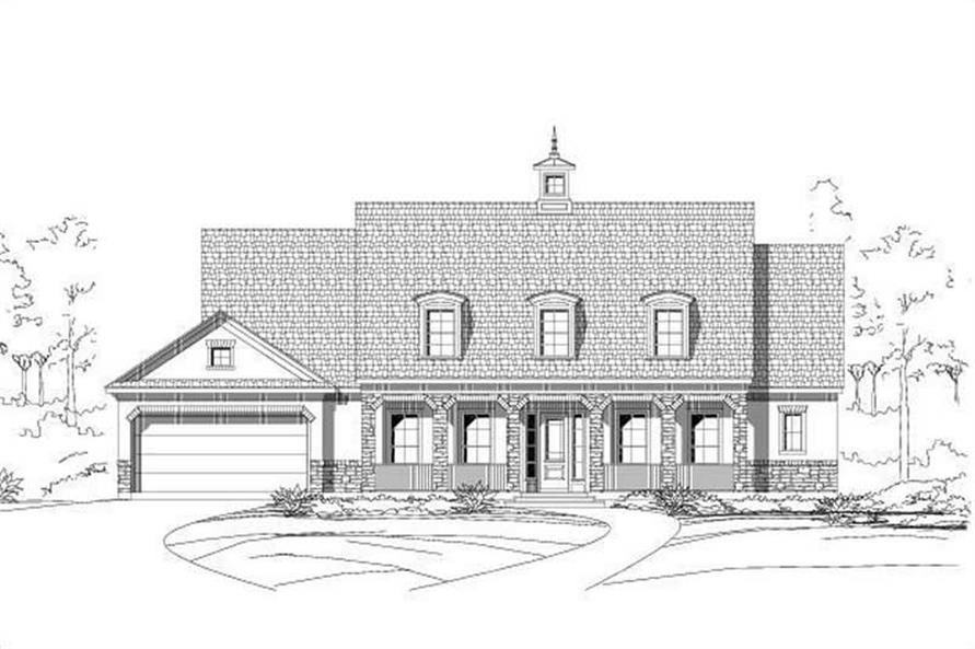 Main image for house plan # 15276