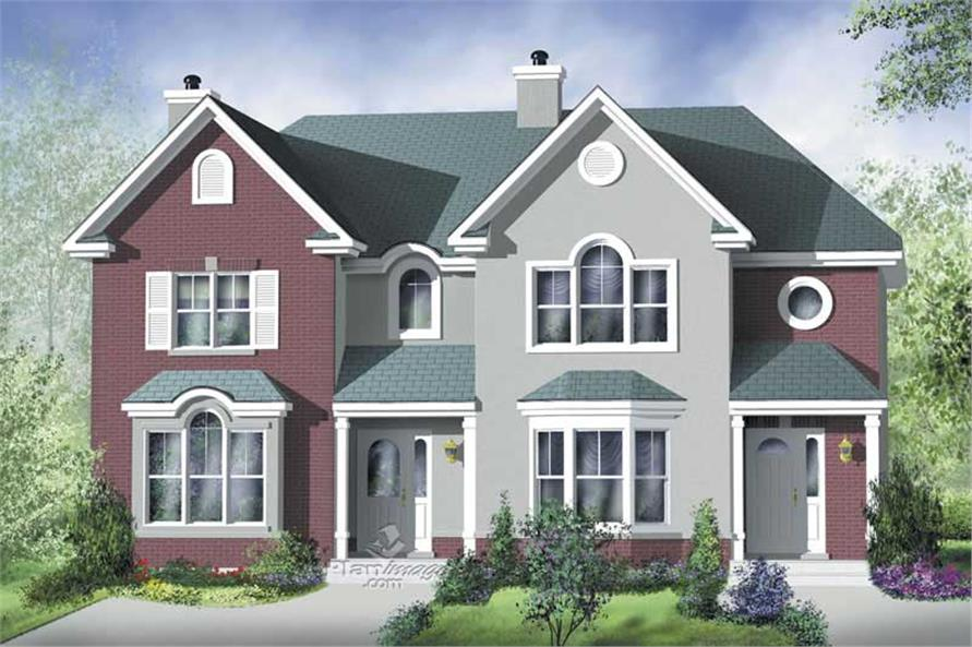 Main image for house plan # 17897