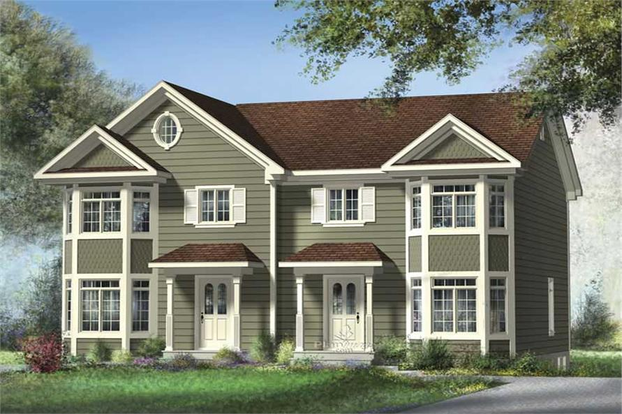 Main image for house plan # 17898