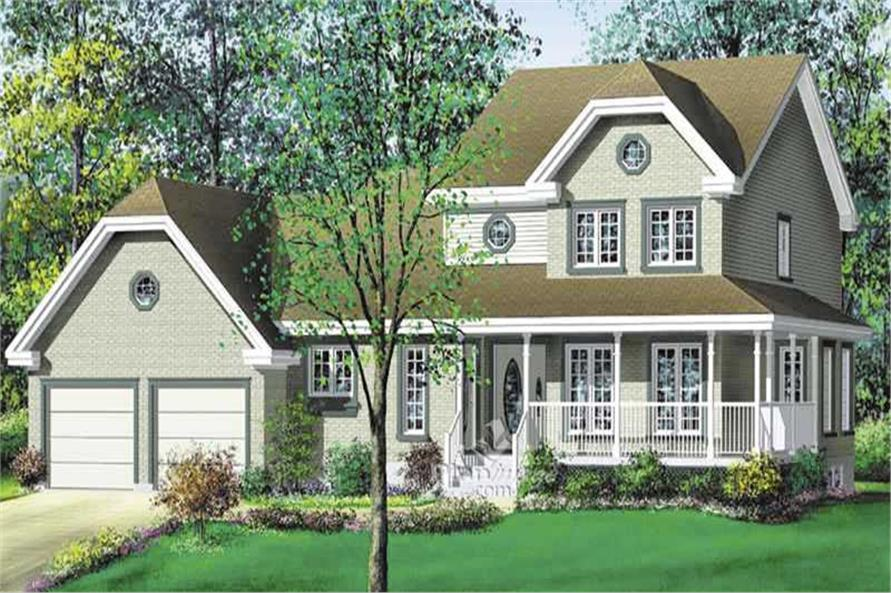 Main image for house plan # 17912