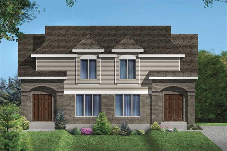 Main image for house plan # 17927