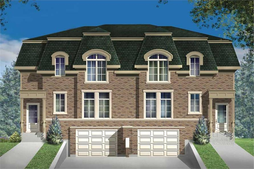 Main image for house plan # 17932