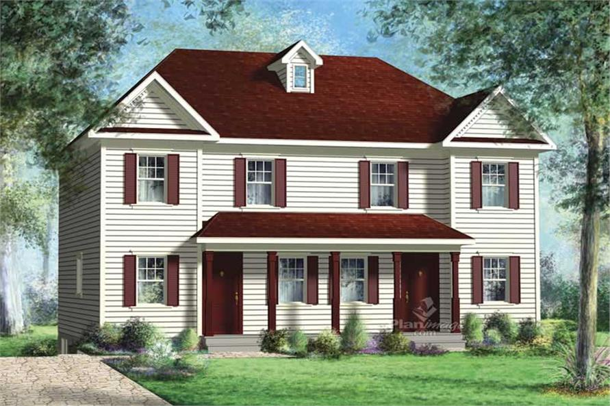 Main image for house plan # 17889