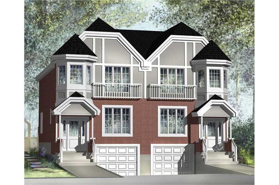 157-1017: Home Plan Rendering