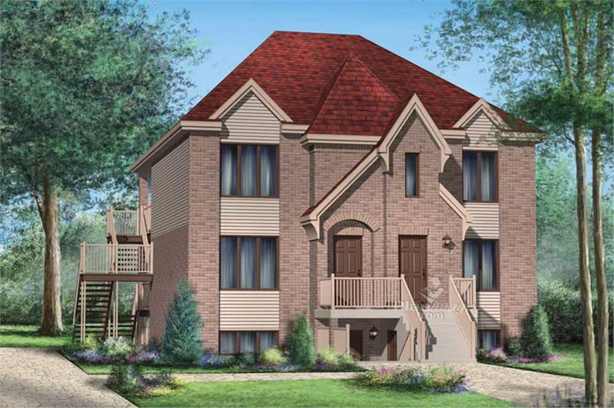 Main image for house plan # 17893