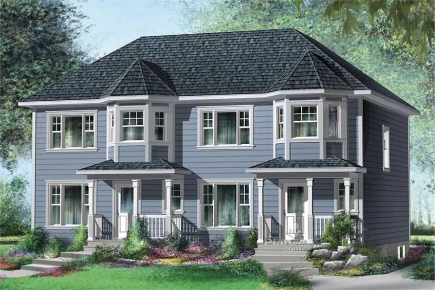Main image for house plan # 17890