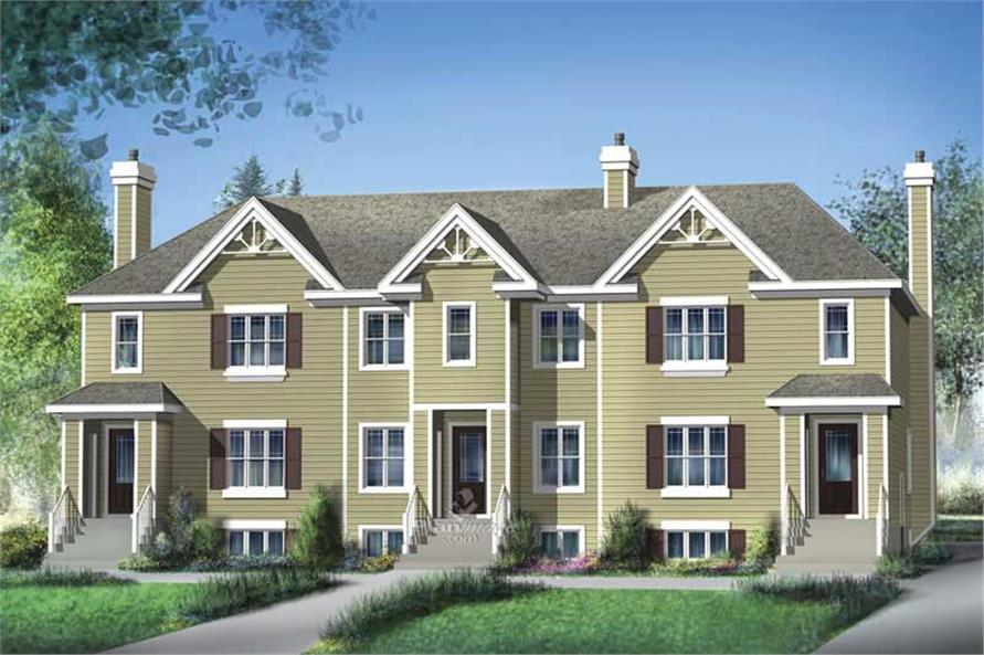 Main image for house plan # 17906