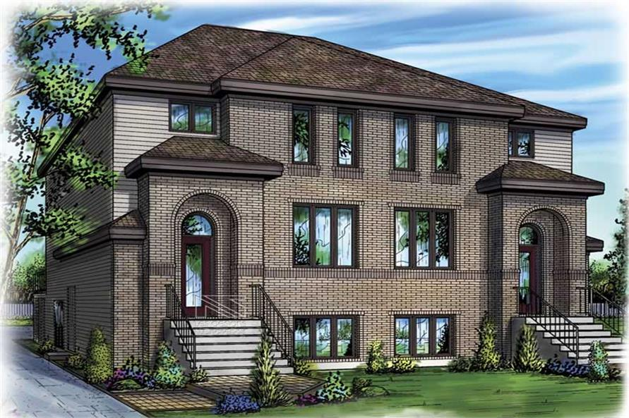 Main image for house plan # 17925