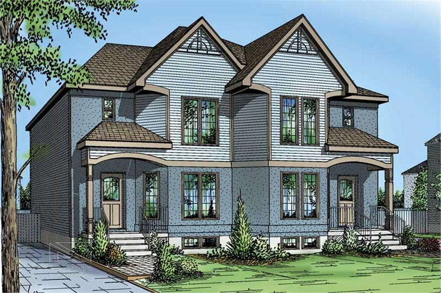 Main image for house plan # 17918