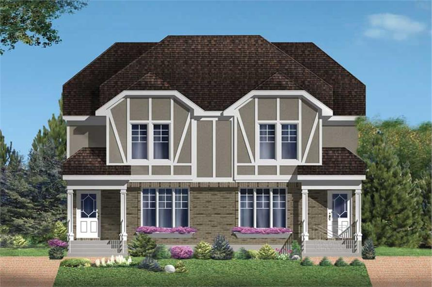 Main image for house plan # 17929