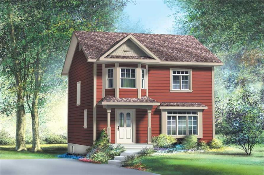 Main image for house plan # 12984