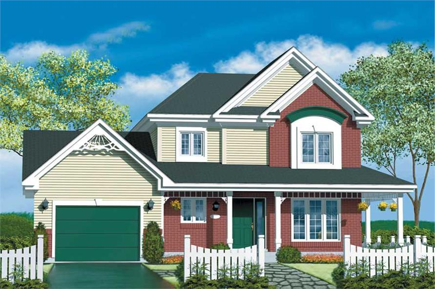 Main image for house plan # 12554