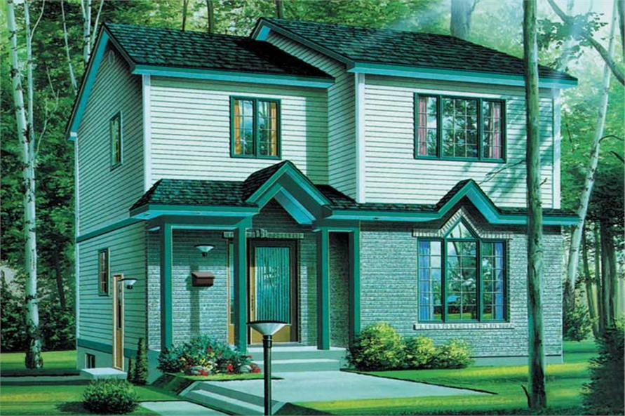 Main image for house plan # 12569