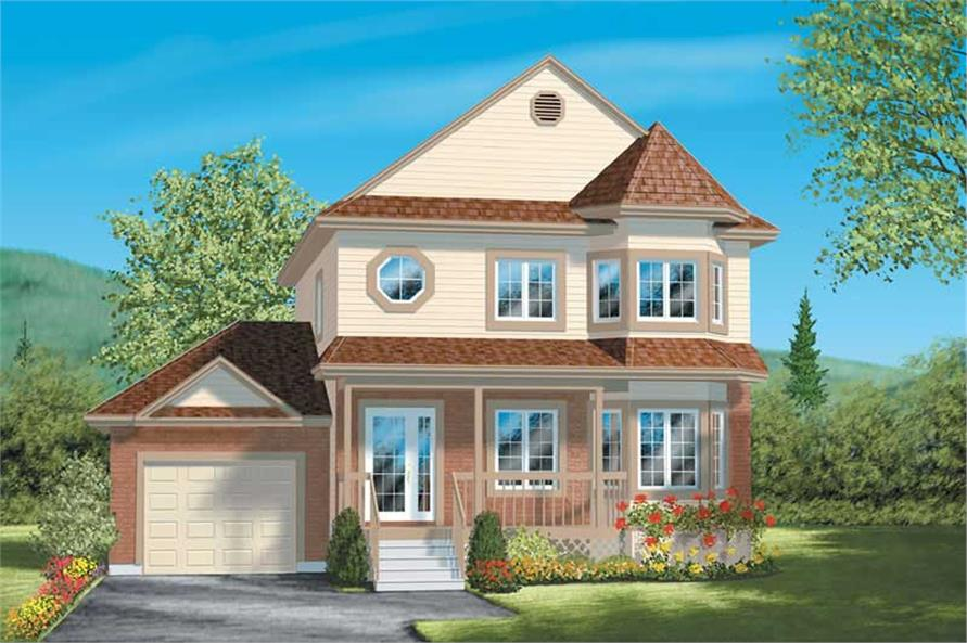 Main image for house plan # 12556