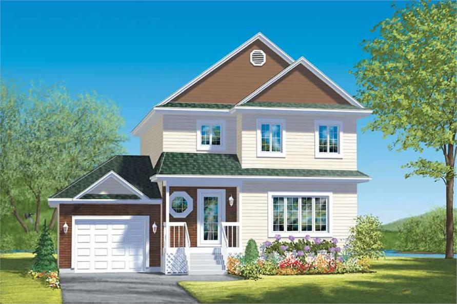 Main image for house plan # 12557