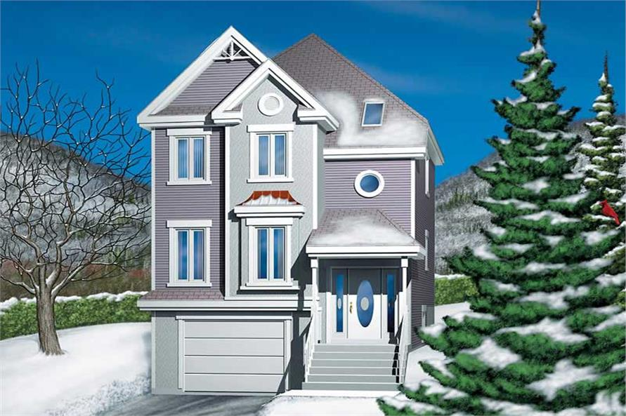 Main image for house plan # 12550