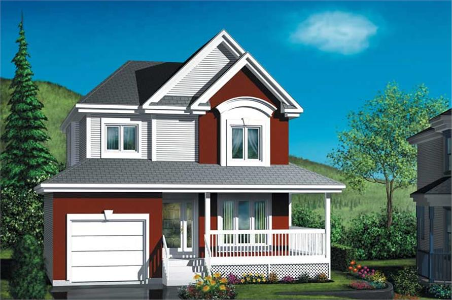 Main image for house plan # 12549