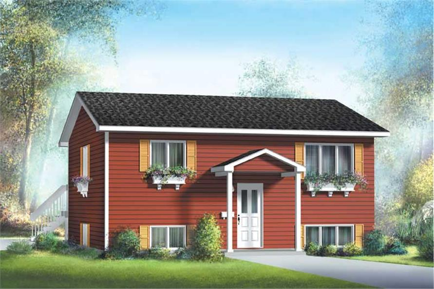 Main image for house plan # 12666