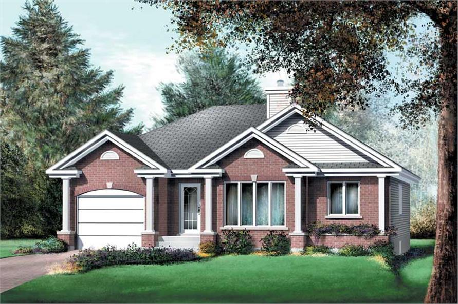 Main image for house plan # 12664