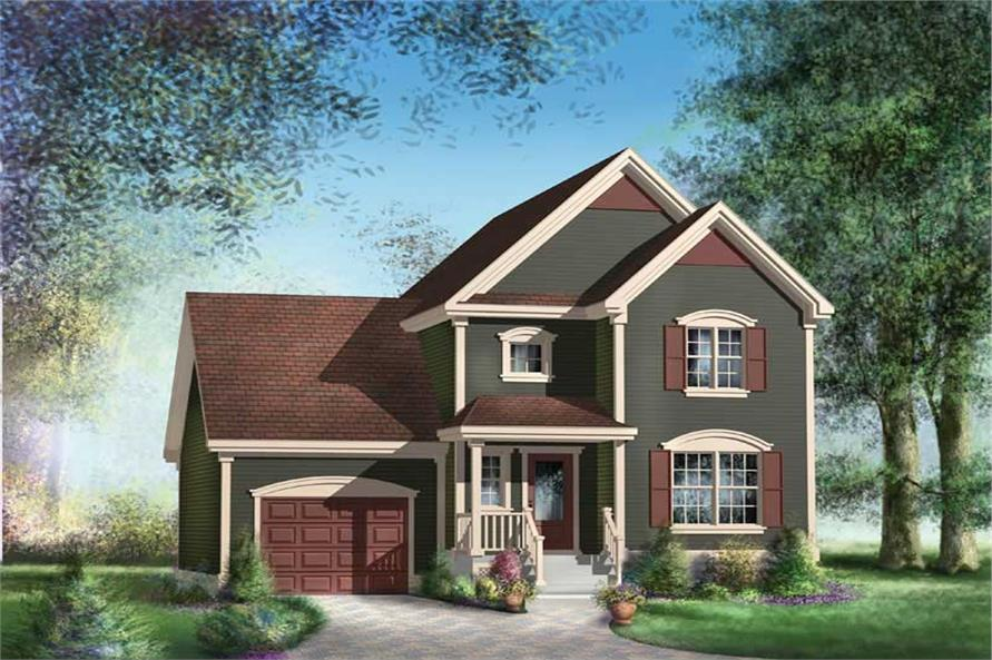 Main image for house plan # 12966
