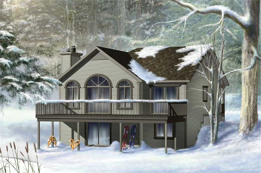 Main image for house plan # 13004
