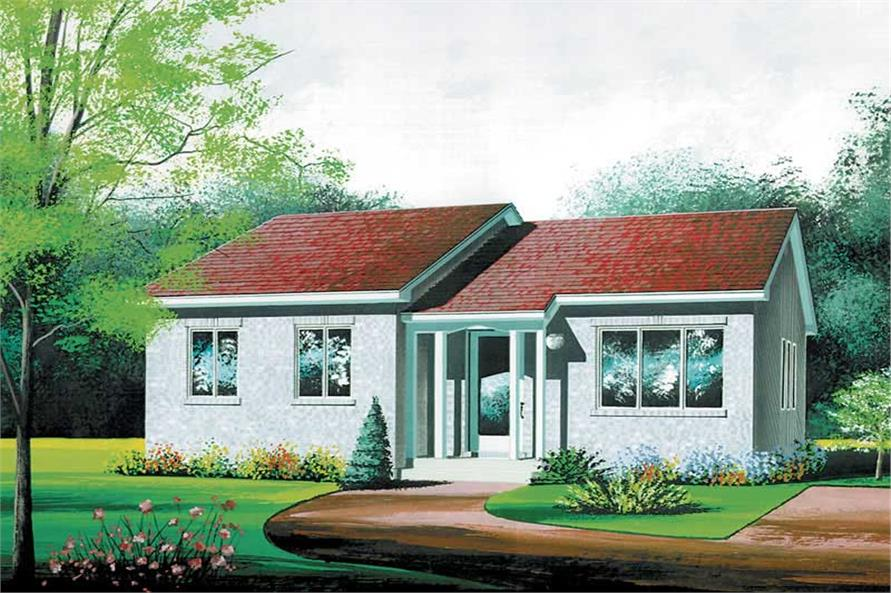 Main image for house plan # 12565