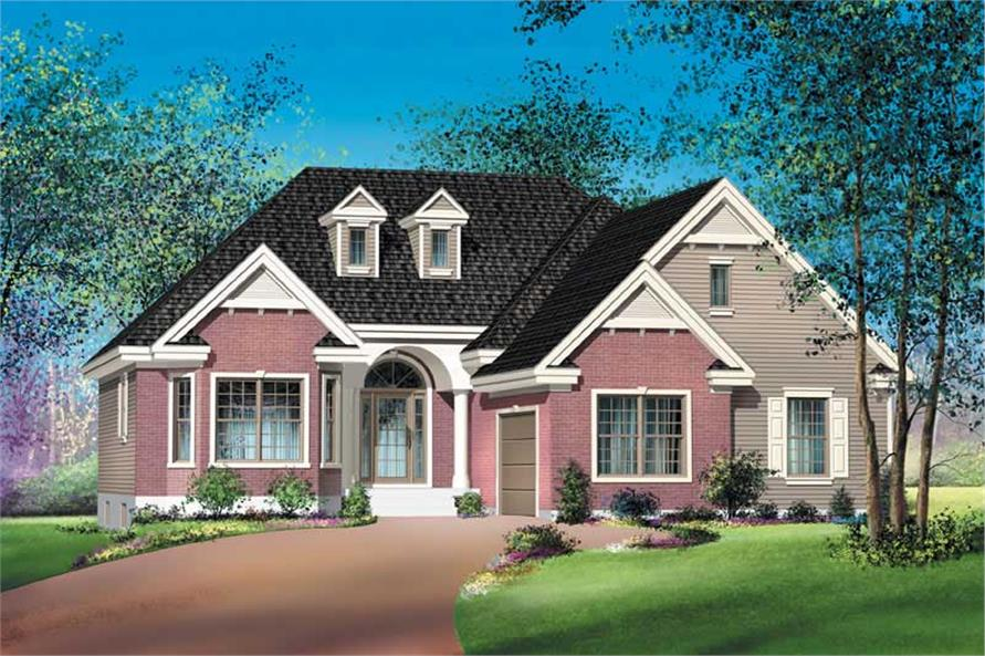 Main image for house plan # 12654