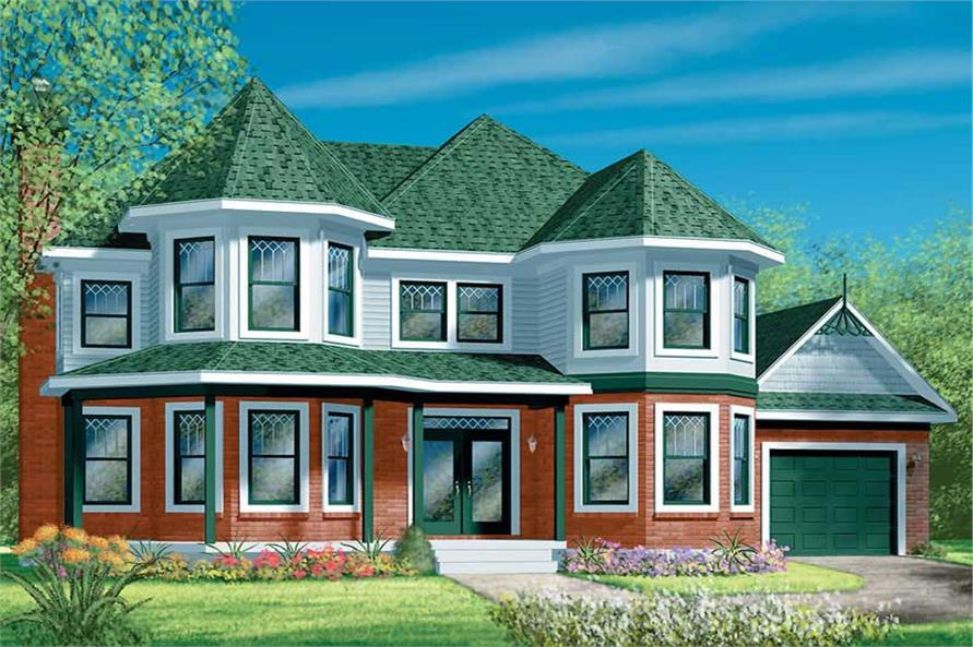 Main image for house plan # 12560