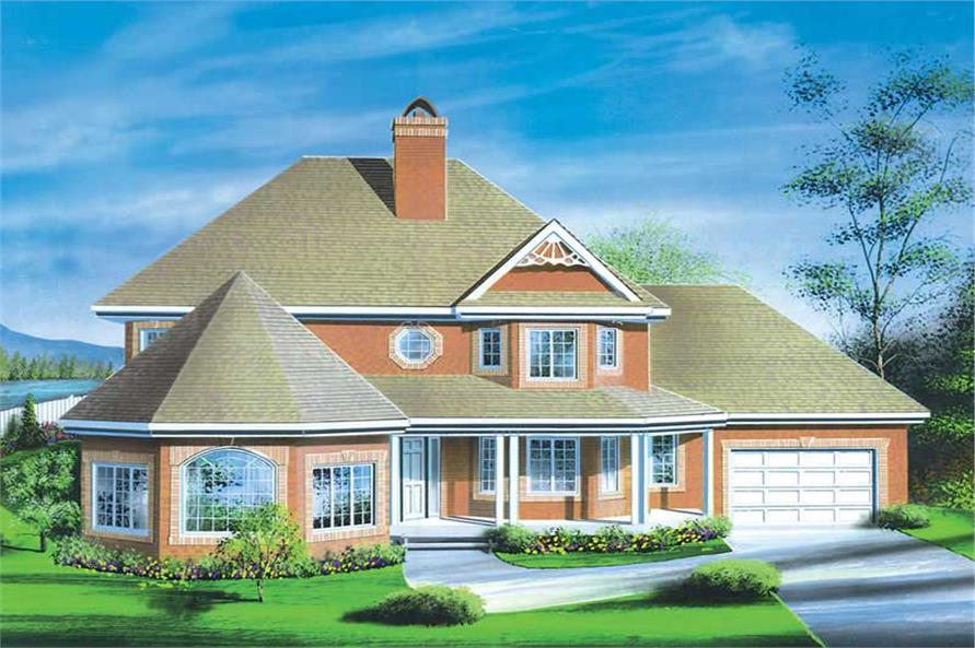 Main image for house plan # 12559