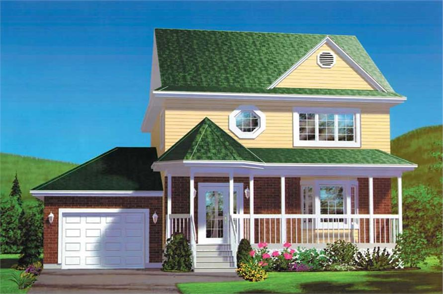 Main image for house plan # 12558