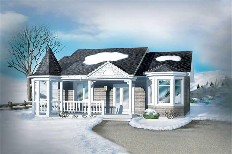 Main image for house plan # 12285