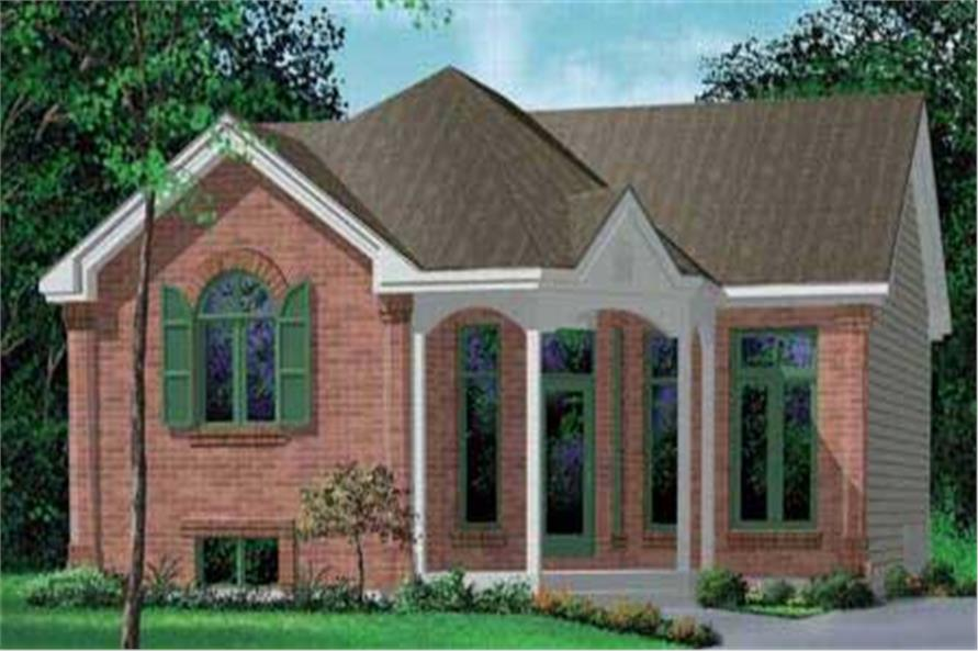 Main image for house plan # 12611
