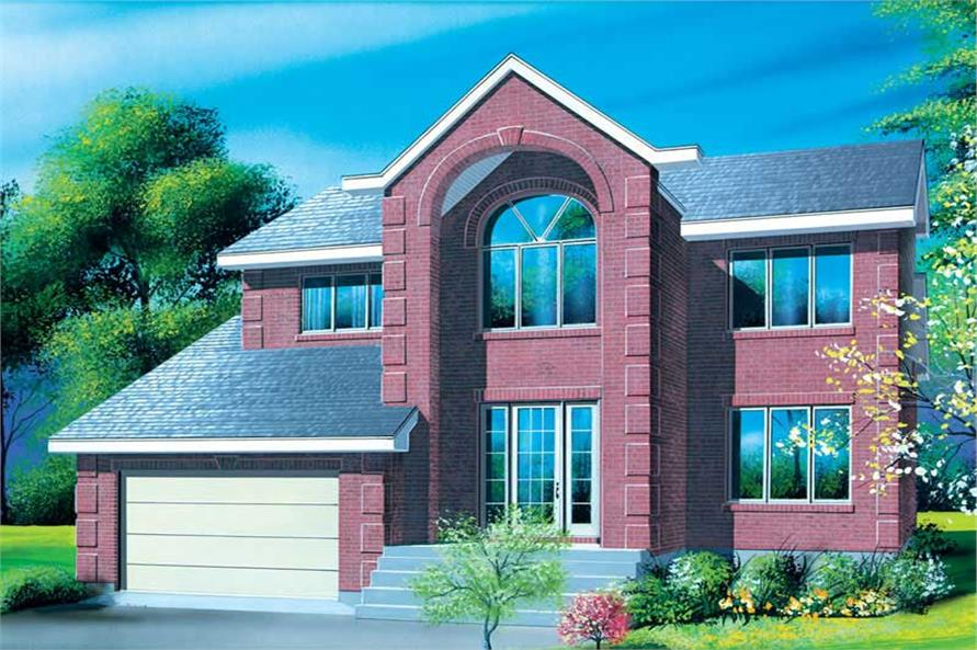 Main image for house plan # 12340
