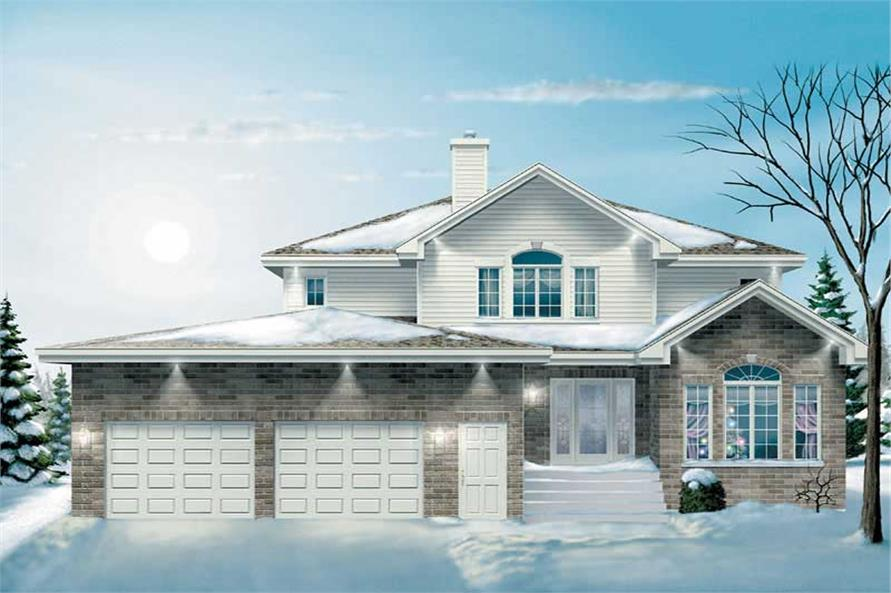 Main image for house plan # 12324