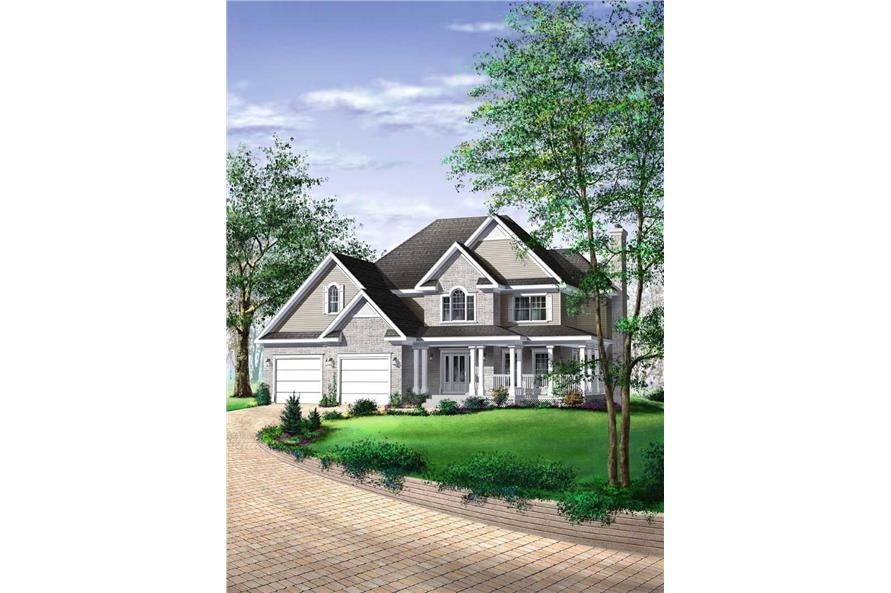 Main image for house plan # 12348