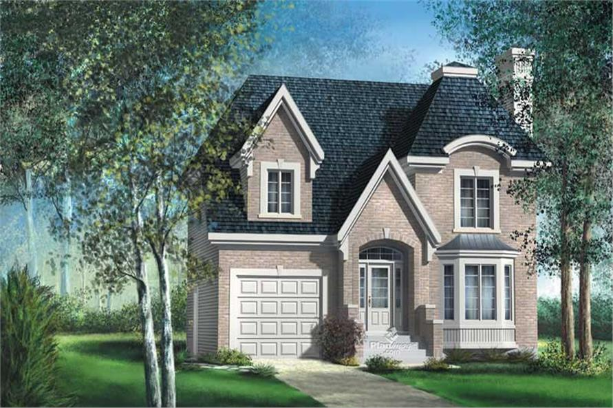 Main image for house plan # 12883
