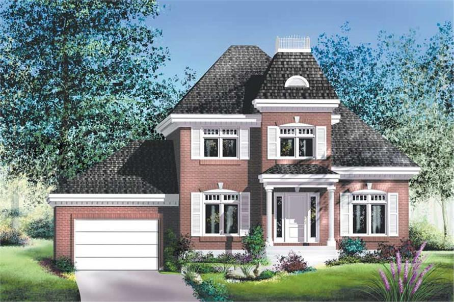 Main image for house plan # 12916