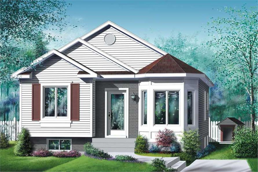 Main image for house plan # 12753