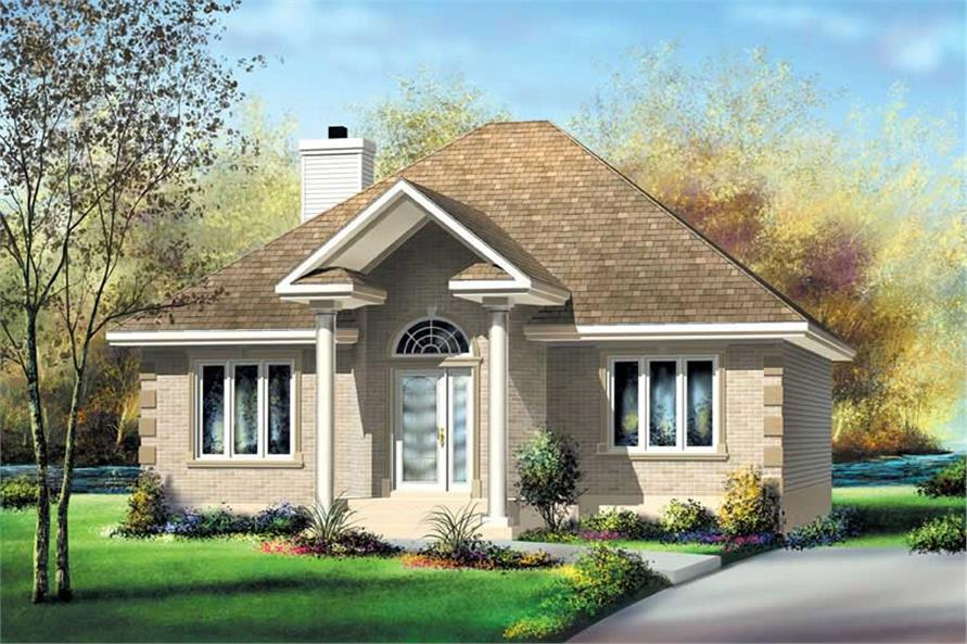 Main image for house plan # 12737