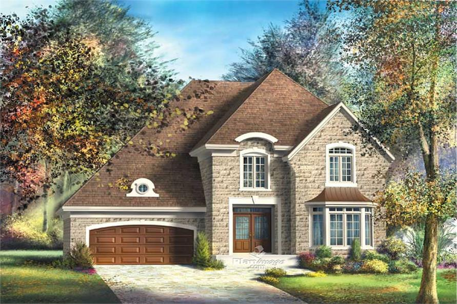 Main image for house plan # 12776