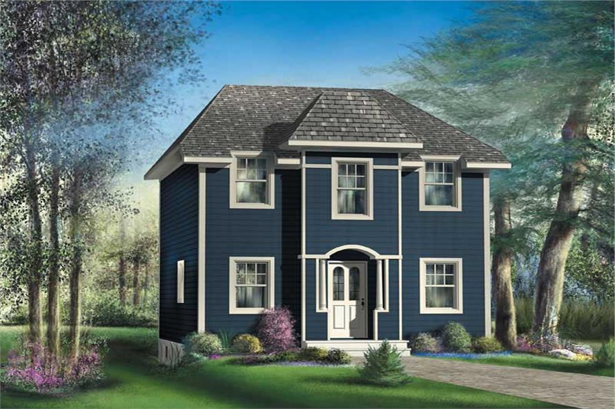 Main image for house plan # 13000