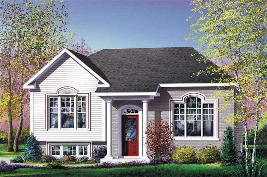 Main image for house plan # 12768