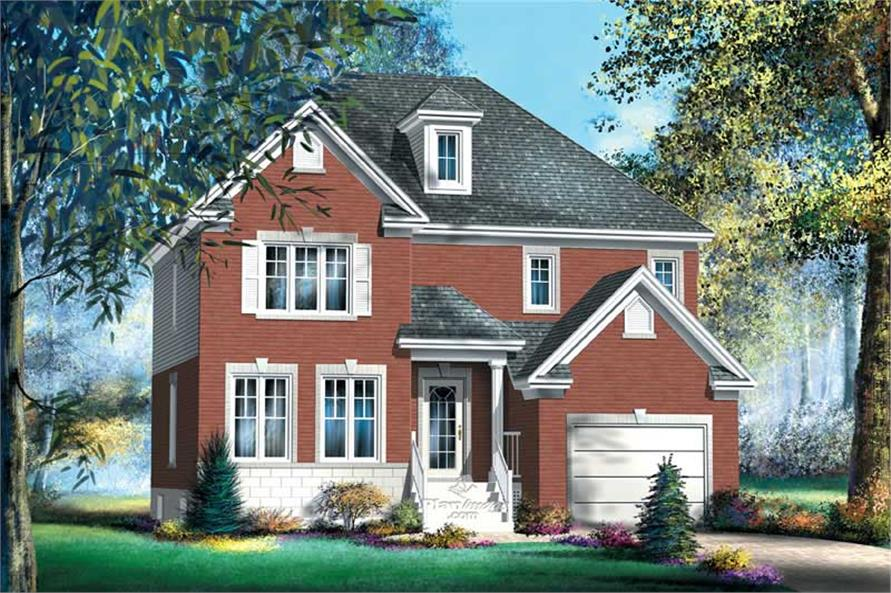 Main image for house plan # 12898