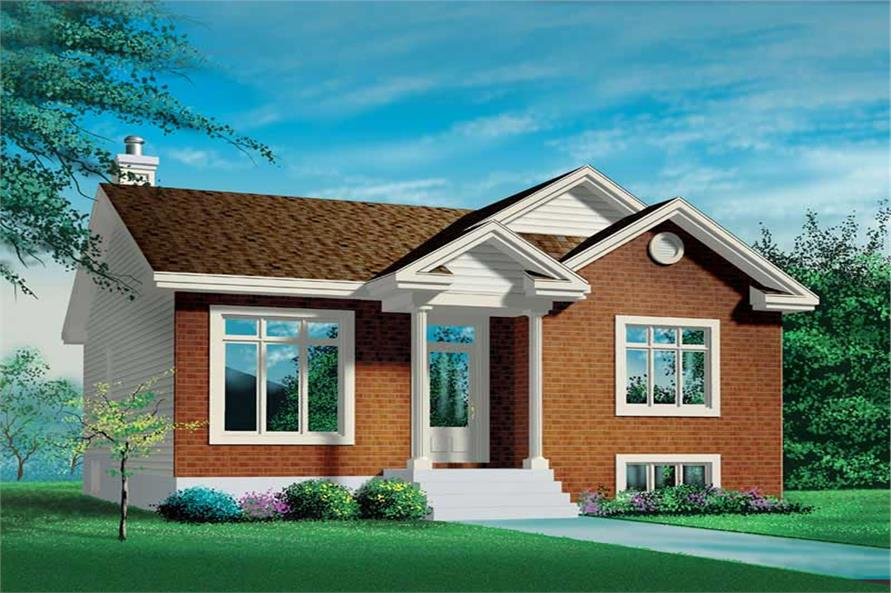 Main image for house plan # 12622