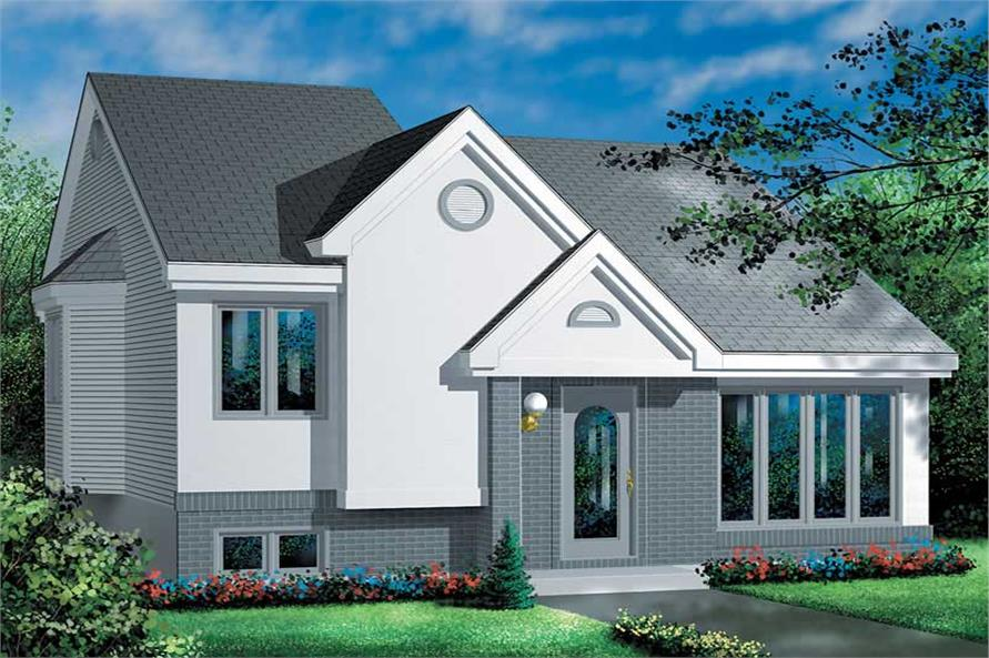 Main image for house plan # 12624